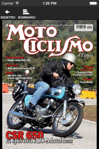 Motociclismo d'Epoca - náhled