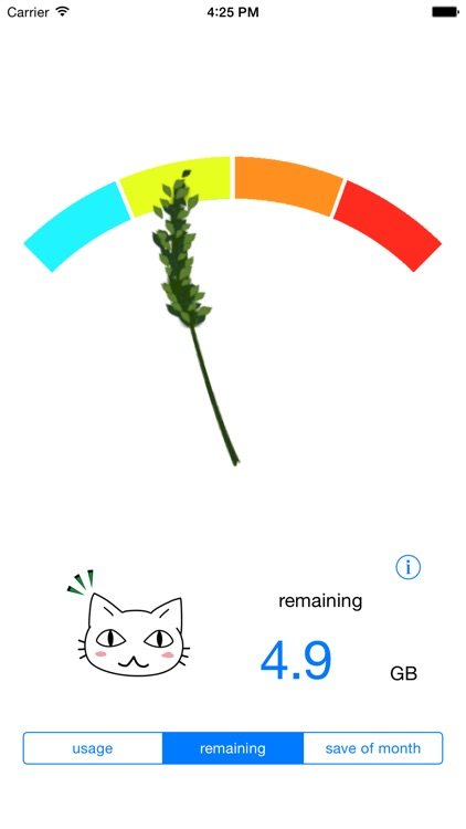 Data Usage Cat