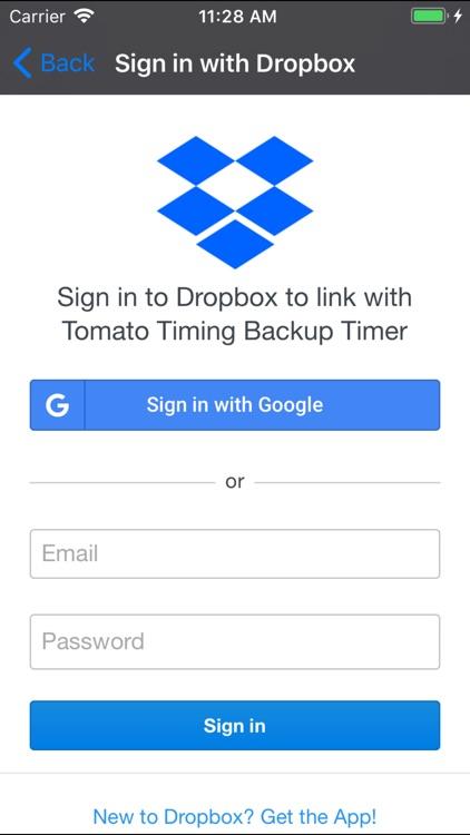 Tomato Timing Backup Timer screenshot-3