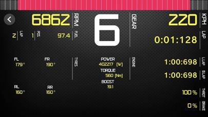 Sim Racing Dash for Forza M7 screenshot 2