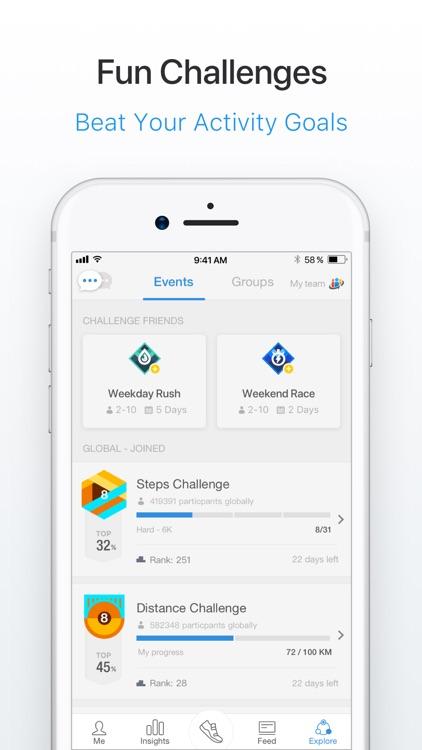 Pacer Pedometer & Step Tracker screenshot-4