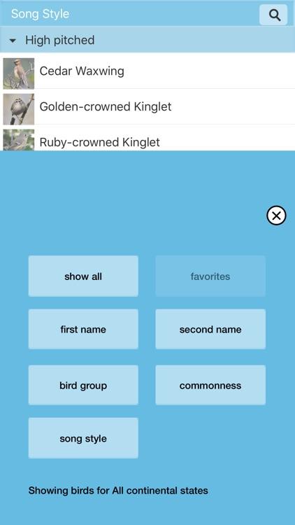 Chirp! Bird Songs & Calls USA screenshot-3