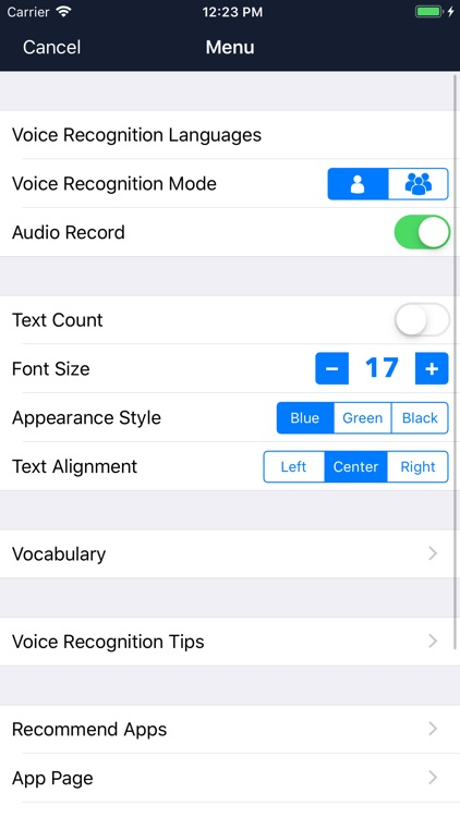 Voice Dictation - Speechy screenshot-4