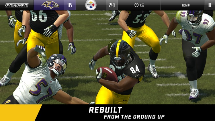 Madden NFL Overdrive Football screenshot-0