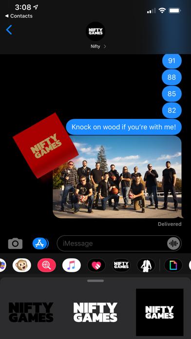 Nifty Stickers screenshot 1