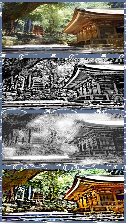 Zen Painting - Ukiyo-e Camera screenshot-4