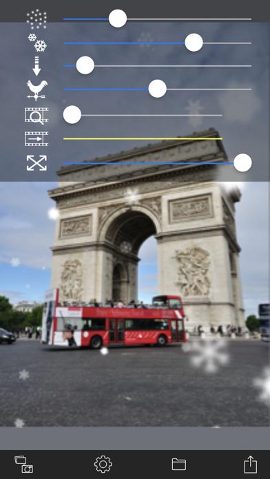 雪降るビデオカメラ screenshot1