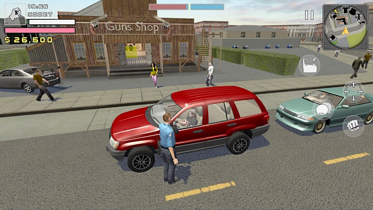 Police Cop Simulator. Gang War screenshot-5