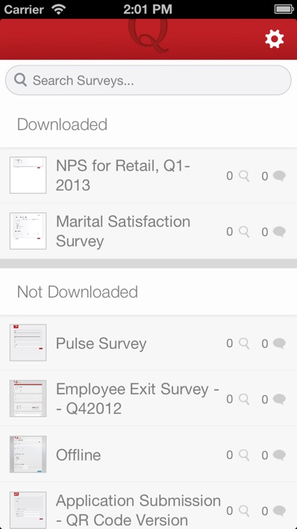 Qualtrics Surveys