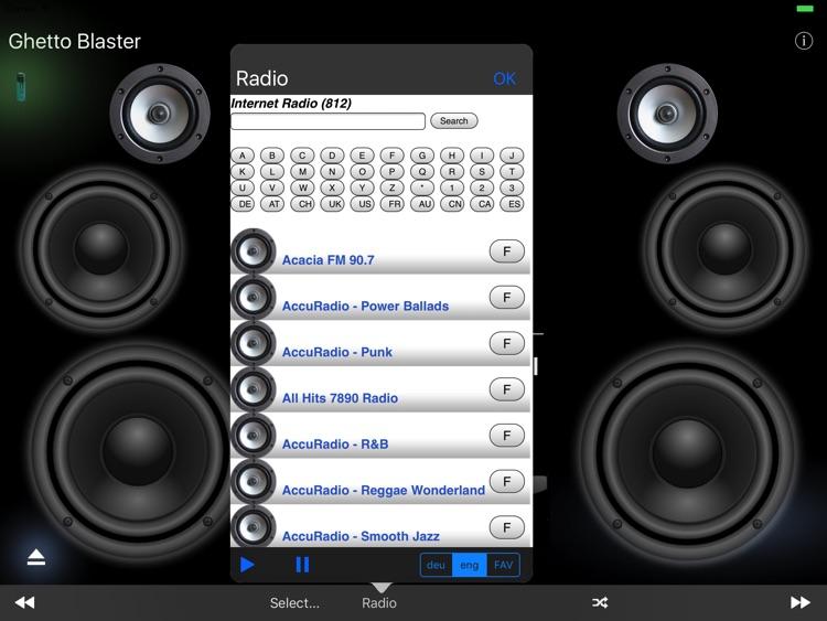 Ghetto Blaster (Music Player)