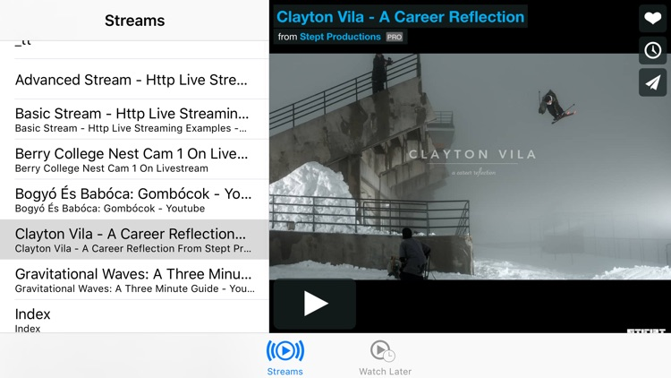 Stream Player for iPhone