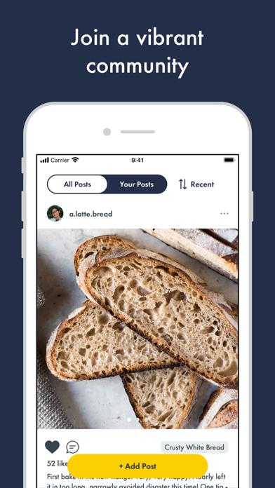 Kneady: Bread Recipes & BakingScreenshot of 4