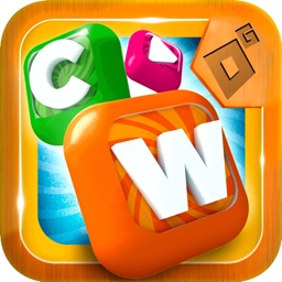 Candy Words Puzzle Game