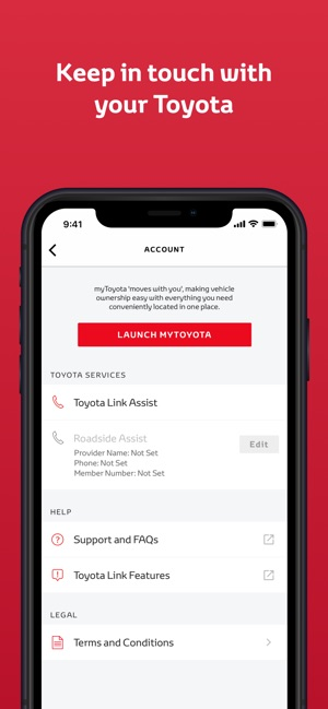 Toyota Pay By Phone >> Toyota Link On The App Store