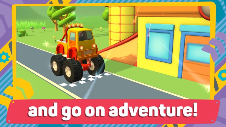 Leo and Cars 2: 3D Constructor screenshot-4