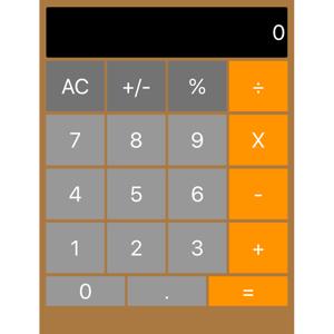 Basic Big Button Calculator - Utilities app