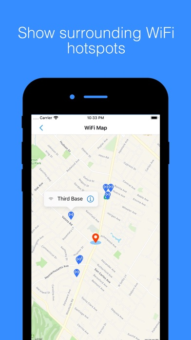 WiFi Around - Nearby Hotspots screenshot
