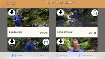 Qi Gong for Anxiety screenshot two