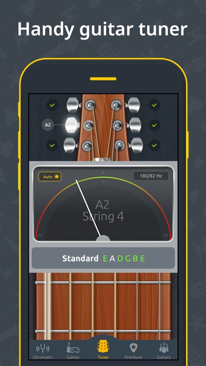 Guitar Tuner - Ukulele & Bass screenshot-0