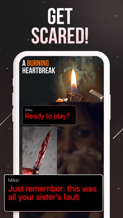 Screenshot for Thrill: Text Stories in United States App Store