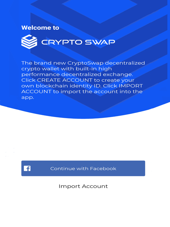 Crypto Swap Liquidity Exchange screenshot #3