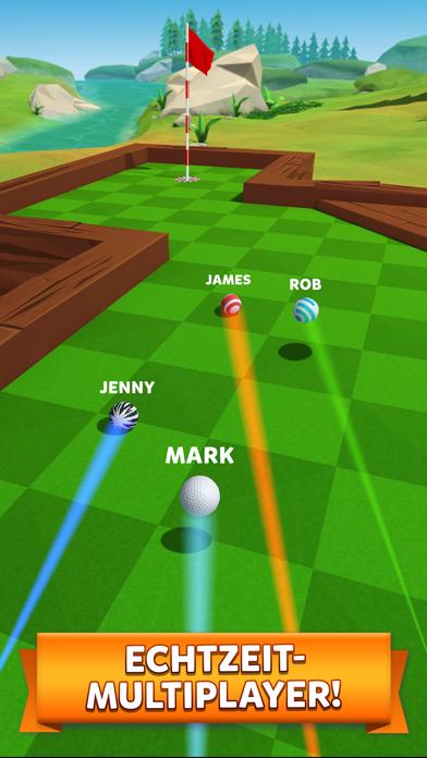 Herunterladen Golf Battle für Android