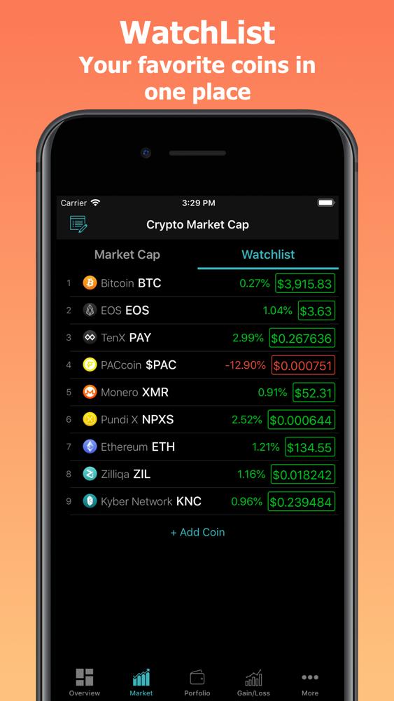 crypto coin market app