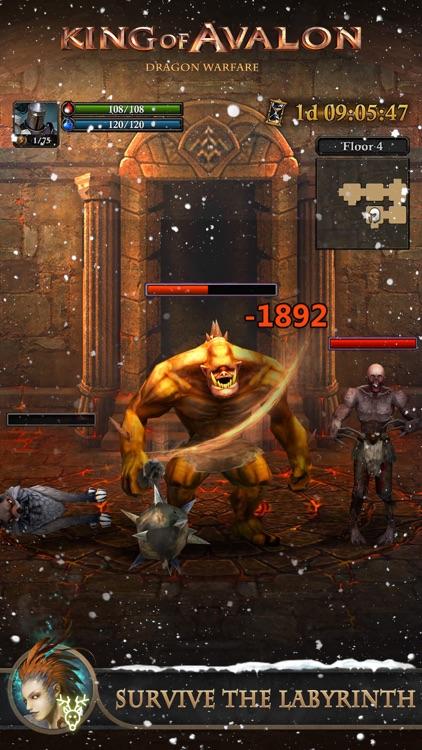 King of Avalon: Dragon Warfare screenshot-3
