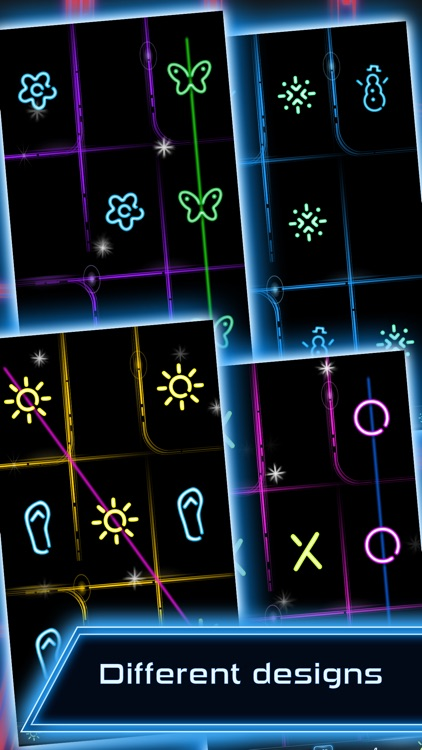 Tic Tac Toe - Glow screenshot-3