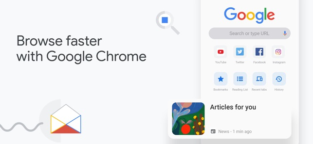 Google Chrome on the App Store