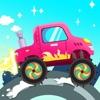 儿童汽车游戏 - 儿童益智游戏,开卡车,消防车