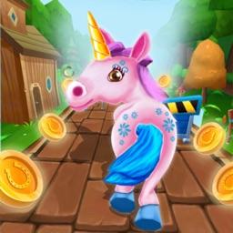 Unicorn Run Rush: Endless Game