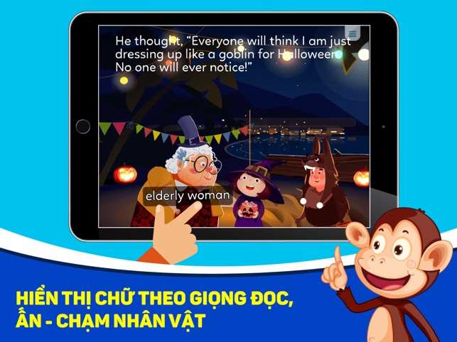 Monkey Stories: học tiếng Anh