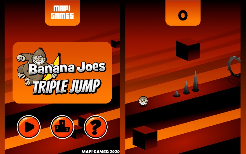 Banana Joes Triple Jump screenshot 1