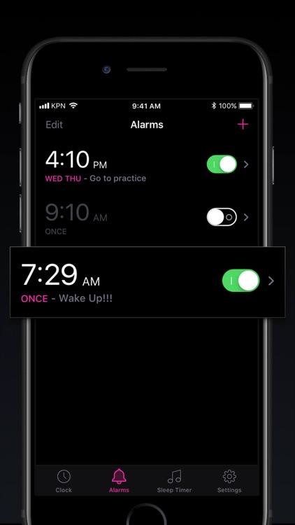 Alarm Clock - My Music Alarms screenshot-4