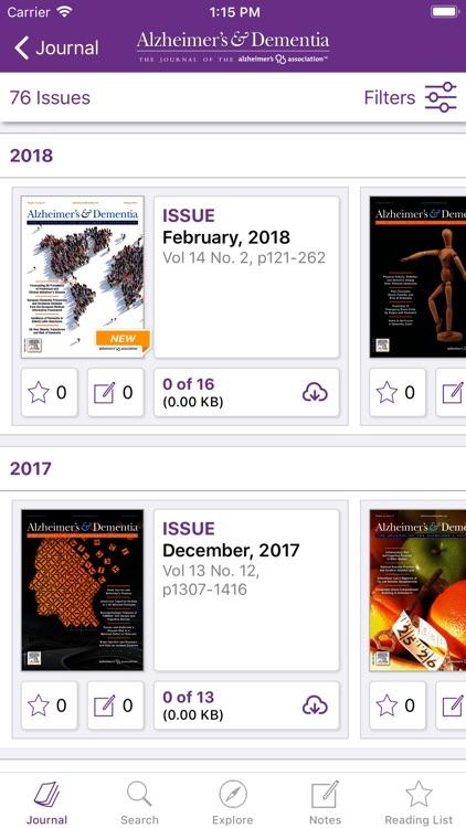 Alzheimer's & Dementia Journal screenshot-3