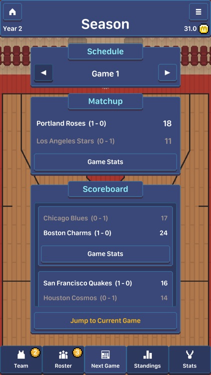 Hoop League Tactics screenshot-6