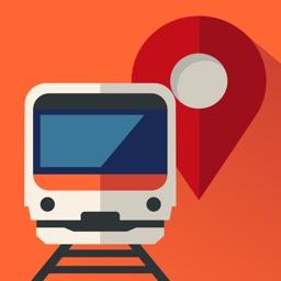 乗換mapナビ 電車とバスの乗り換え案内ナビ By Mti Ltd