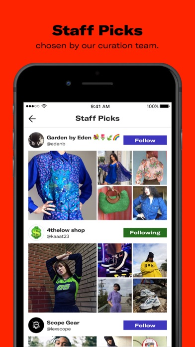 Screenshot for Depop - Fashion Marketplace in United Kingdom App Store