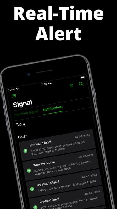 Stocks Signal Screenshot