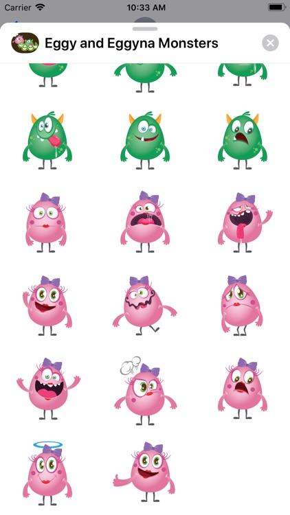 Eggy and Eggyna Monsters screenshot-3