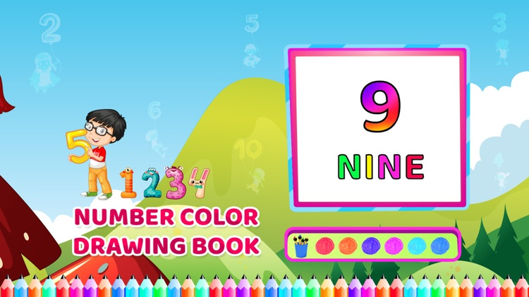 Number Colour Drawing Book screenshot-4