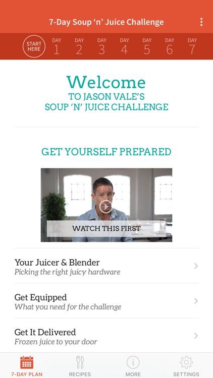 Jason's Soup + Juice Challenge