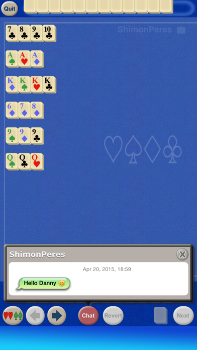 Rummy Cubes screenshot two