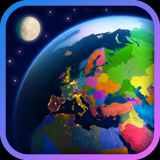 三维地球一世界地图集