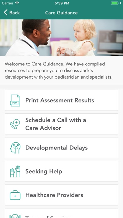 Cognoa for Child Development screenshot three