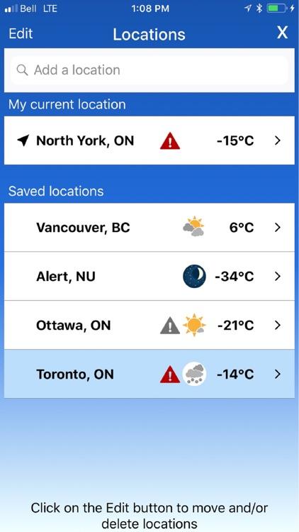 WeatherCAN screenshot-6