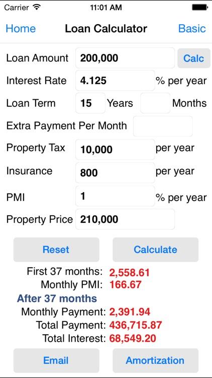 EZ Financial Calculators screenshot-3