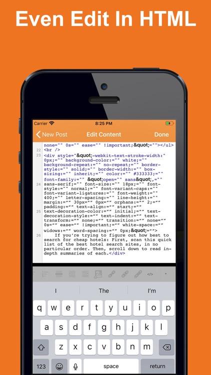 Blog for Blogger screenshot-3