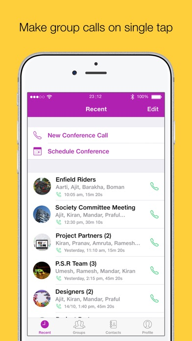 Screenshot for JioGroupTalk in United States App Store